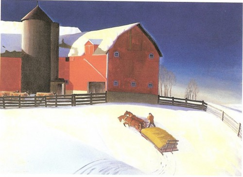Dale Nichols, January, 1935, Collection of Williams College Museum of Art