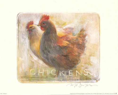 CHICKENS  BY MICHAEL BINGHAM