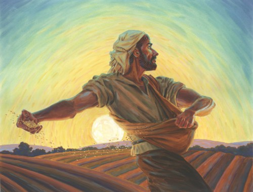 The Sower by Johne Richardson